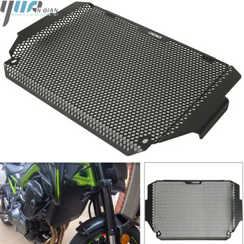 For KAWASAKI Z900 Z 900 2017 2018 Motorcycle Stainless steel Radiator Guard Protector Grille Cover Engine Grill Guard Covers