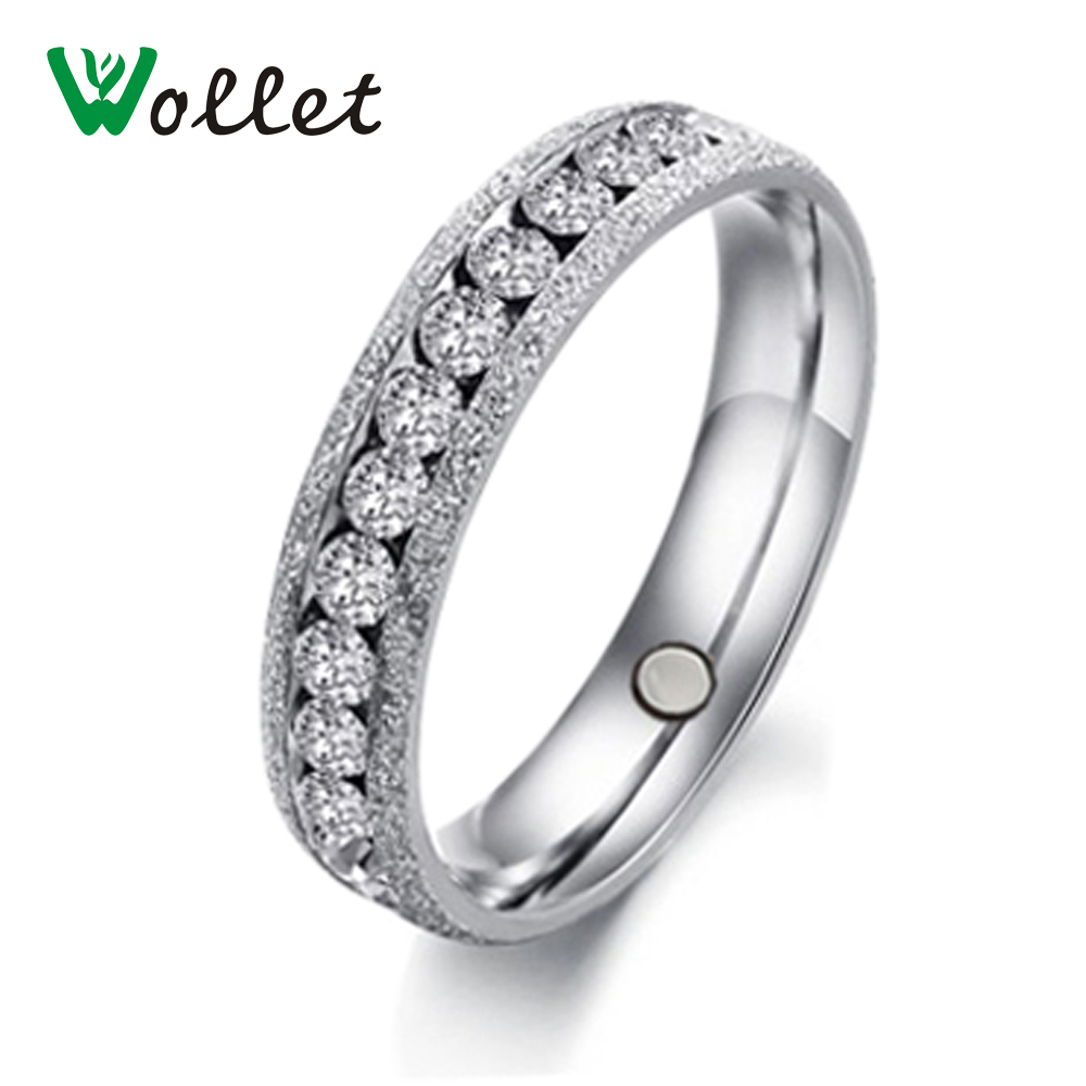 attractive diamanti ring for sets wedding women and hers rings a gold men is anelli his promise crystal magnetic
