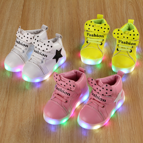 2017-new-spring-and-autumn-childrens-shoes-LED-light-shoes-girls-sports-light-shoes-baby-high-help-flash-light-sneakers-2