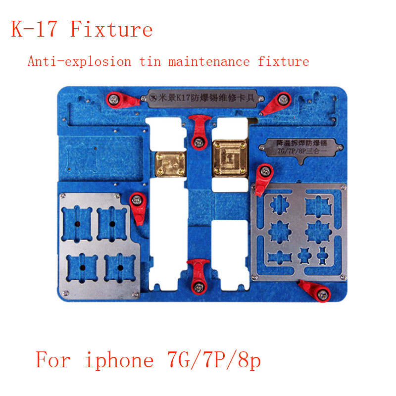 Multi function for iPhone  7p 7g 8 6smain board jig circuit board clamp fixture Explosion proof Cooling JigMulti function for iPhone  7p 7g 8 6smain board jig circuit board clamp fixture Explosion proof Cooling Jig