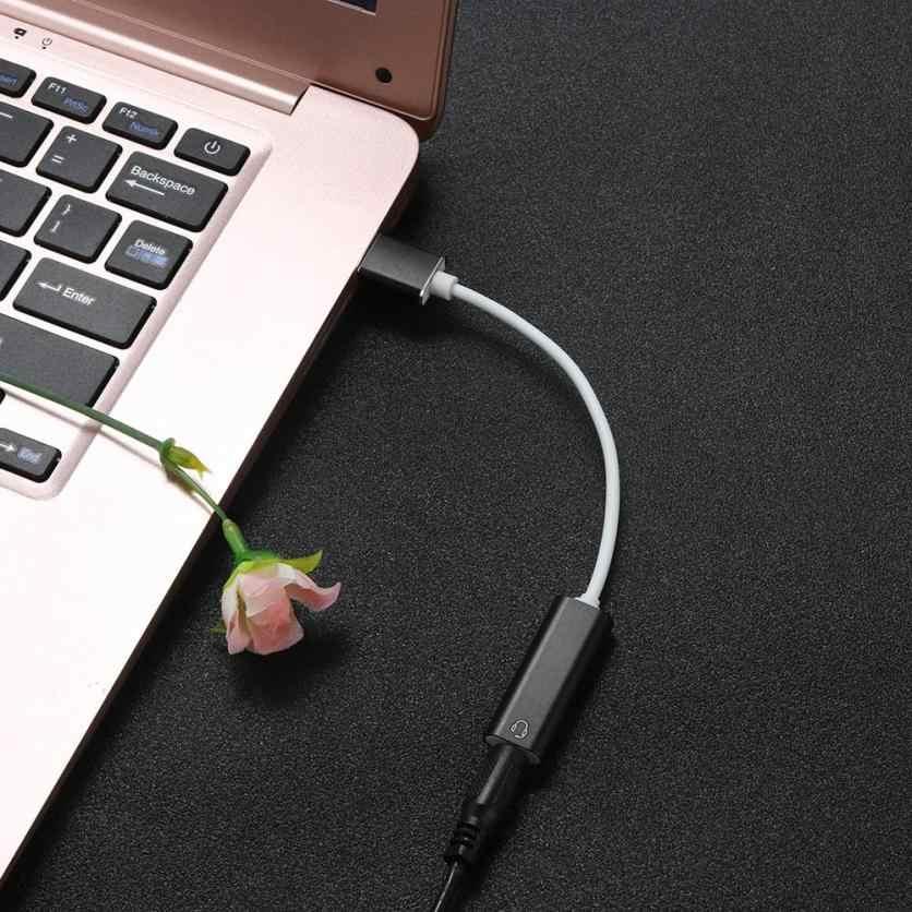 PC Твердый чехол для переноски зарядное устройство, внешний Usb Аудио Звуковая карта до 3,5 мм адатпера стерео Динамик для PS3 ПК 18Jul18 звуковые карты