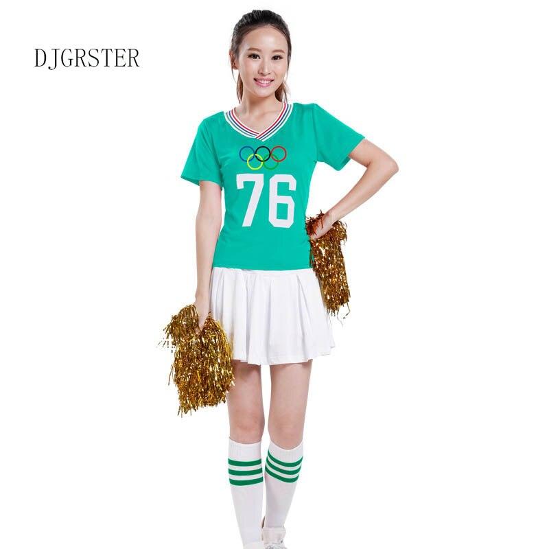 Djgrster Xs Xxl New High School Cheer Musical Glee Cosplay -1617