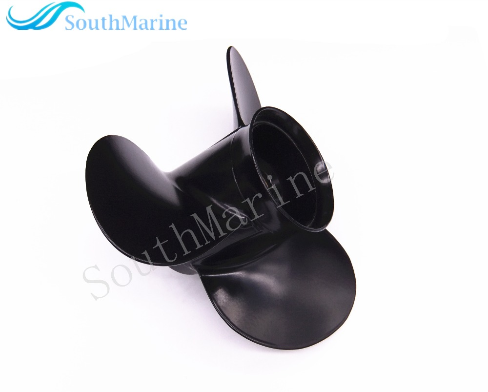 10 1/4X11 K Boat Engine Aluminum Propeller for Suzuki Johnson Evinrude OMC 25HP 30HP Outboard Motor 10 1/4 X 11K цена