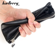 2019 Baellerry PU Leather Men Wallets Card Holder Top Quality Fshion Soft Wallet Skin Brand Luxury Purse For