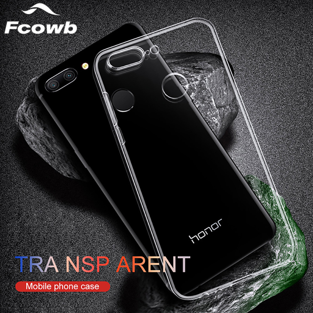 low priced af870 e0cf8 US $1.47 22% OFF|Soft Case For Huawei Honor 9 Lite Case TPU Silicon  Transparent Fitted Clear Bumper Back Cover Case For Huawei Honor 8 lite  Case-in ...