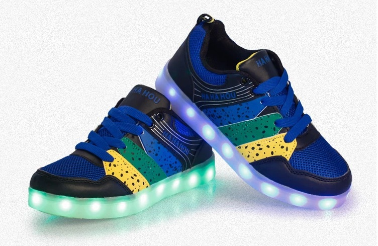 Children S Led Shoes Women Kids Boys Lighting Flash Light Up Sports Skating Shoe Laces Shoelaces Shoestrings Cool In Sneakers From Mother