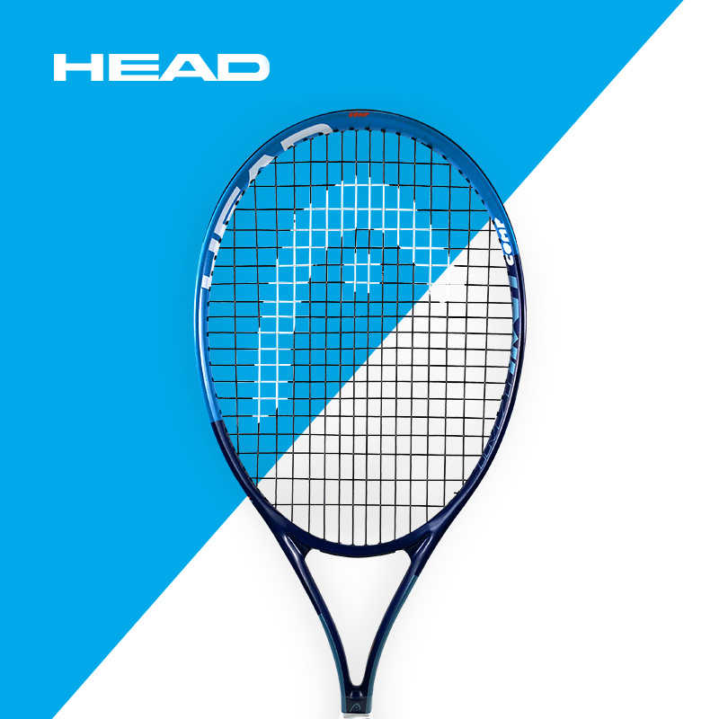 Carbon Fiber Tennis Racket HEAD Professional  Match High Quality Adult Training MP Surface Racquet Heavy Tip Balance Point