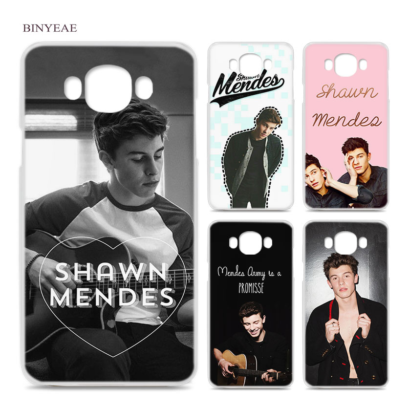 BINYEAE Shawn Mendes Magcon Toronto for Samsung Galaxy J1 J2 J3 J5 J7 2016 2017 EU Clear Case Cover Shell