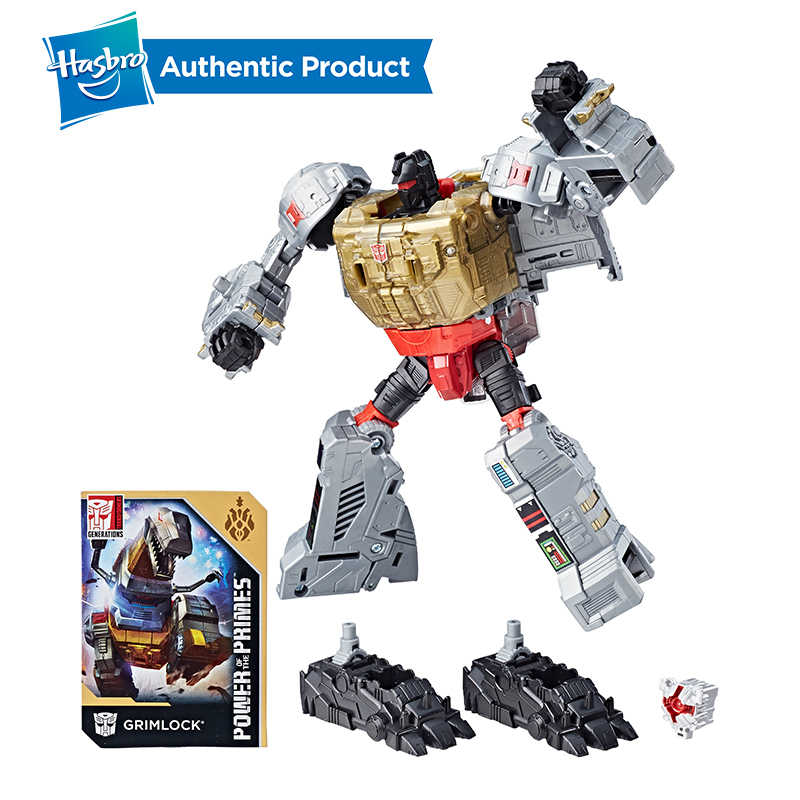 Hasbro Transformadores Gerações Poder dos Primes Classe Voyager Decepticons Starscream Action Figure Modelo toy Car Presente Meninos