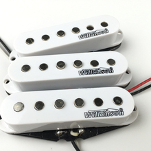 Wilkinson elektrikli gitar manyetikleri Lic Vintage tek bobin manyetikler ST beyaz MWVSN/M/B