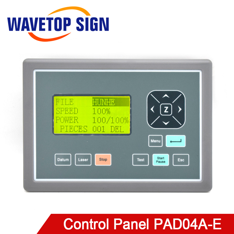 WaveTopSign Leetro Operation Panel PAD04A E CO2 Laser Controller System for Laser Engraving and Cutting Machine