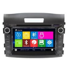 8 Inch Car DVD Player GPS Navigation System for Honda CRV CR-V 2012 2013 2014 Radio Can Bus Steering wheel control Ipod USB SD