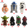 64GB Wholesale USB Pen Drive Star Wars Darth Vader 4GB 8GB 16GB 32GB Usb Flash Drive