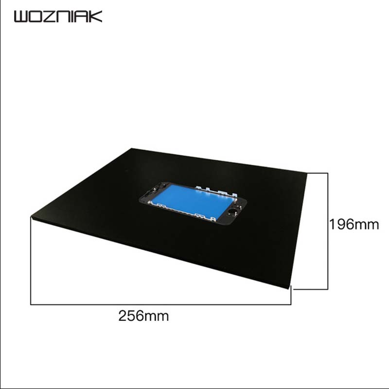Wozniak Pressure Screen Pad mat Silicone for iphone 6 6P 7 7P One bracket cover LCD Screen Repair Platform Free Shipping image
