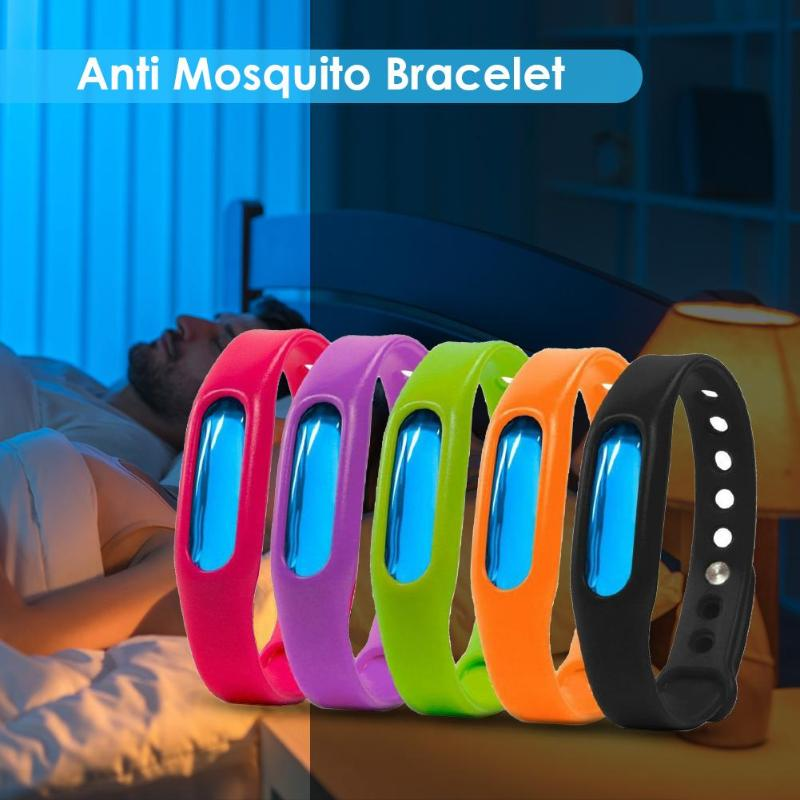 Image 3 - Mosquito Killer Anti Mosquito Bracelet Button Insect Repellent Wristband Summer Outdoor Indoor Mosquito Repellent Insect Killer-in Smart Accessories from Consumer Electronics