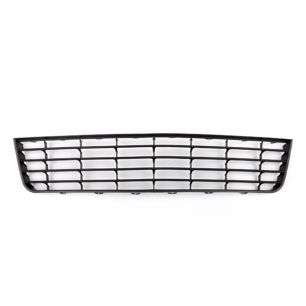 Areyourshop Car Front Bumper Lower Hood Grill Mesh Grille Fit For VW Golf MK5 2005-2008 1Pcs Black Car Styling Covers 10th front bumper grill abs material middle grille racing grills type r grill mesh case for honda civici 2016 2017