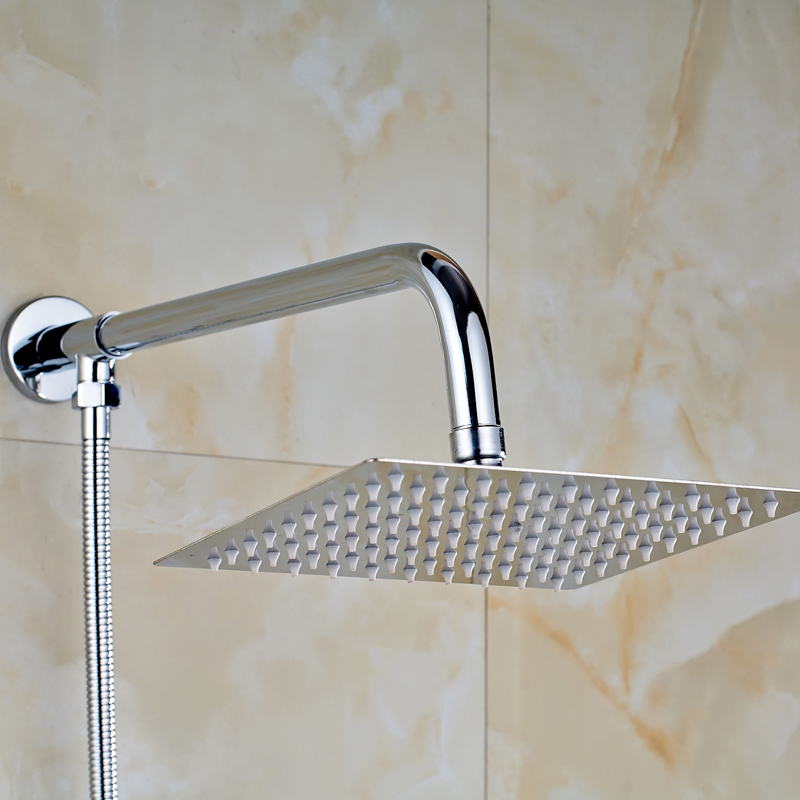 Chrome Finish Shower Set 8\