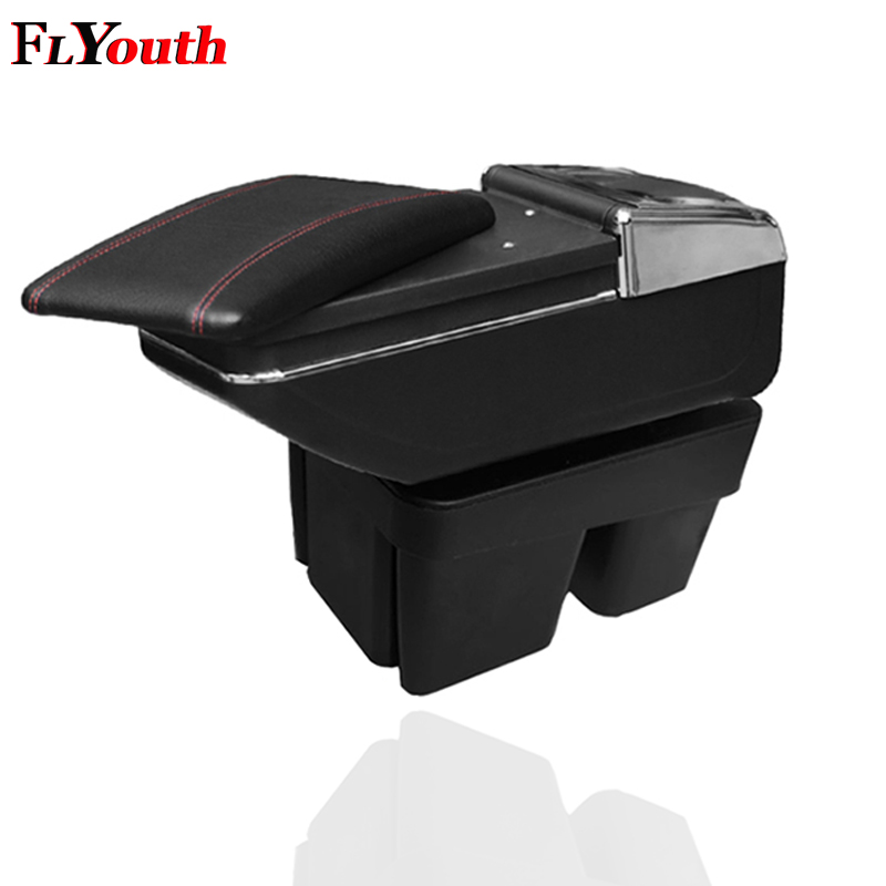 For Volkswagen Golf 7 2015 2016 2017 Car Armrest Box Car Styling Central Store Content Box Cup Holder Interior Car Styling in Armrests from Automobiles Motorcycles
