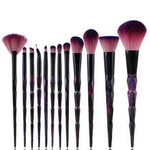 12Pcs/Set Professional Foundation Powder Eyeshadow Blush Eyeliner Lip Beauty Lipstick Cosmetic Make-up Brush Tools 30
