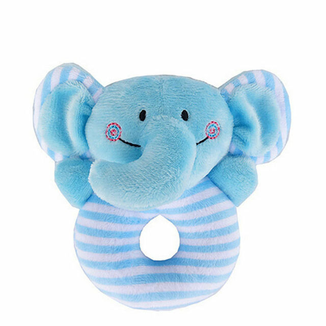 Stuffed Animals Soft Plush Rattle Toys Boys Girls Cuddle Toddler Infant Baby Toy Girl Rattles Hand Bell Infant Toddler Plush Toy