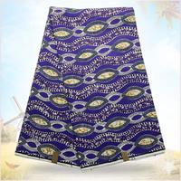 High Quality Super Hollandais Wax 100 Cotton Fabric 6 Yards Lot S004
