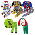New Baby Boy Girl Children's Pajamas Set Cartoon Tops + Pants Clothing Set Kids Nightwear Christmas Sleepwear Toddler Pyjamas 21