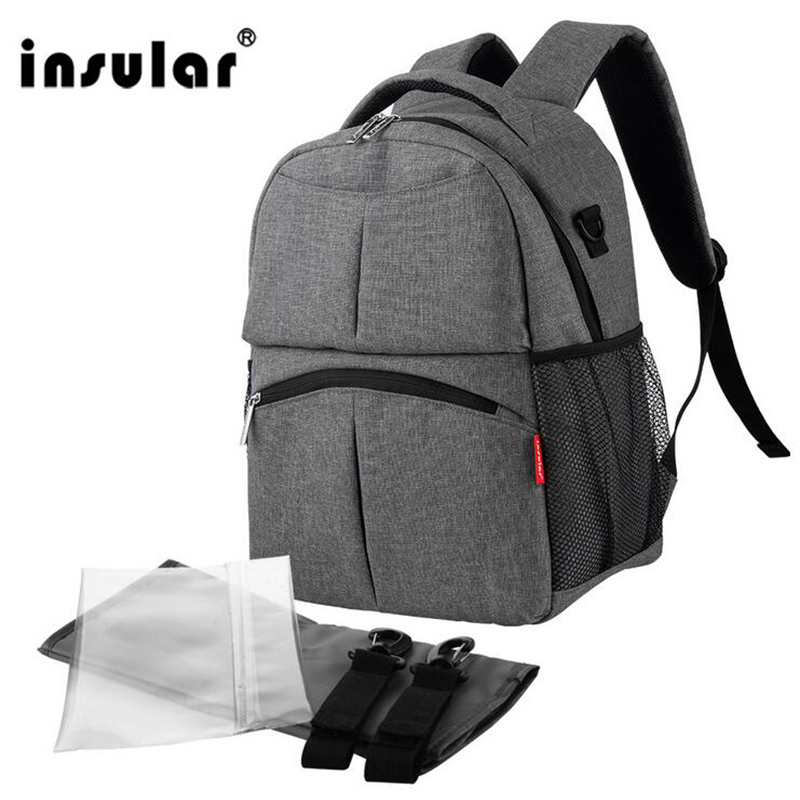 ФОТО Fashion Backpack Baby Bags For Mom Diaper Backpack For Travel Multifunctional Mother Mummy Bag Nappy Backpack Bebe Maternidade