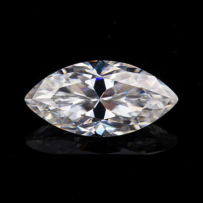 Moissanites Diamond EF Color Maquise Shape 14*7mm Lab-Created Moissanites Loose Gemstones for Jewelry Making image