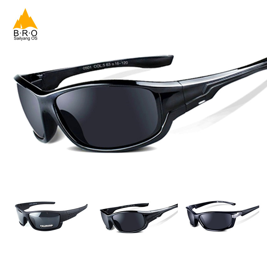 Elegant Black Polarized Glasses Women Cycling Sunglasses Cyclist Mens Sport Sunglasses Case Gafas Ciclismo Glasses For Bicycles