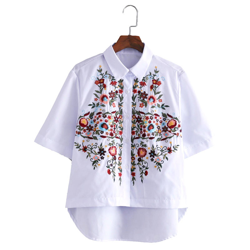 cotton Embroidery shirts