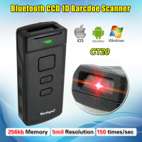 Free Shipping CT 20 Mini Portable Wireless Bluetooth Barcode Scanner For Apple IOS Android Win