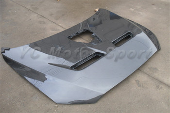 Car Accessories Carbon Fiber OEM Style Hood Without Scoop & Side Vents Fit For 2008-2012 EVO X EVO 10 Hood Bonnet