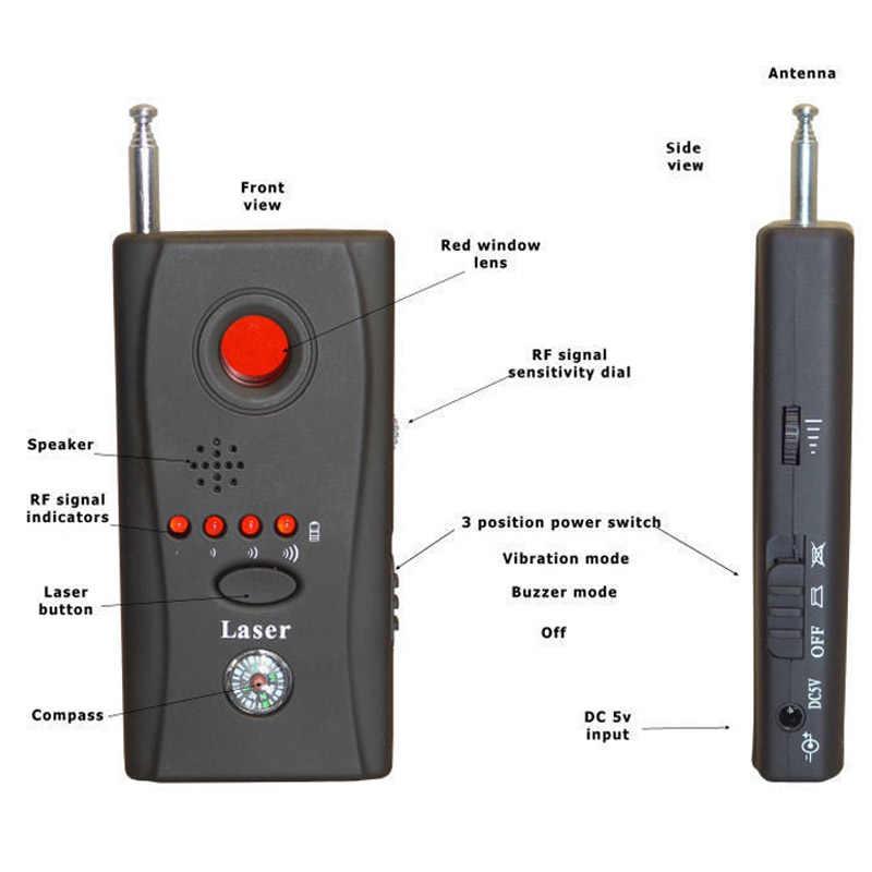 Topvico полный спектр Анти-шпион ошибка детектора CC308 мини Беспроводной Камера Скрытая сигнала GSM устройства Finder конфиденциальности защиты безопасности