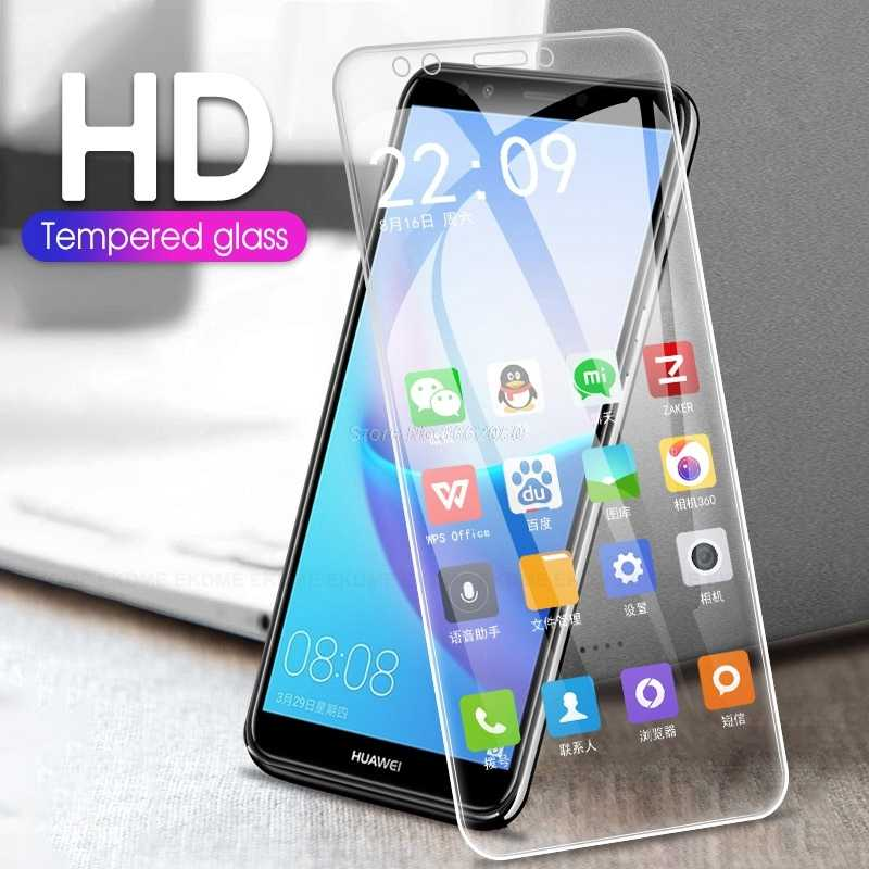 9H HD Tempered Glass for Huawei Y6 Prime 2018 Y7 Y5 Prime 2018 Screen Protector Protective Glass For Honor 7A 7C Pro 5.7 Glass