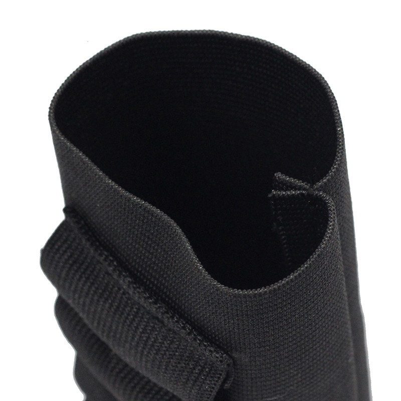 Airsoft Rifle Hunting Tactical Shotgun Pouches 5 Butt Cartridges Stock Shell Holder Elastic Fabric Ammunition Carrier Newest 6