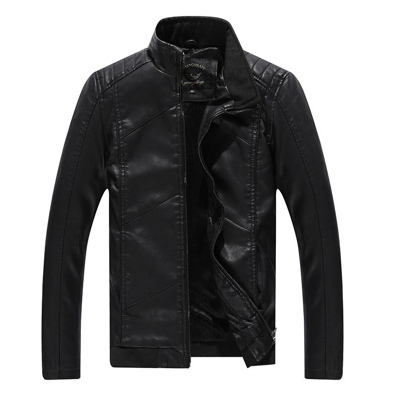 Ardhja e re 2016 Vjeshtë dhe dimër në modë PU xhaketë lëkure PU - Veshje për meshkuj - Foto 2