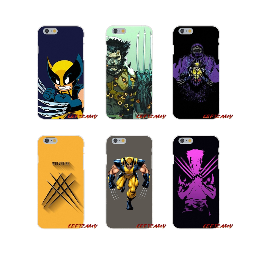 Comics X-Men Wolverine For Huawei P8 P9 P10 Lite 2017 Honor 4C 5X 5C 6X Mate 7 8 9 10 Pro Accessories Phone Shell Covers image