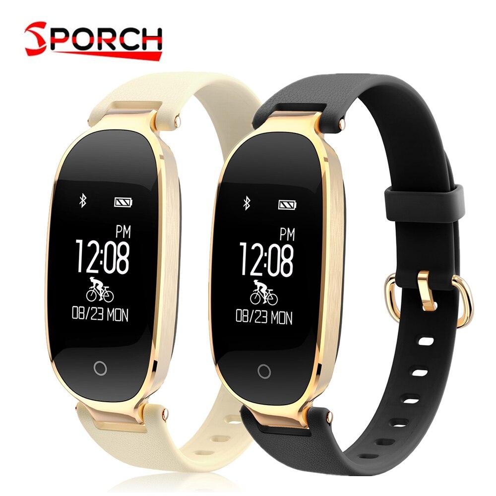 S3 Fashion Smart Bracelet Girl Women Heart Rate Monitor Wrist Smartband Lady Female Fitness Tracker Wristband
