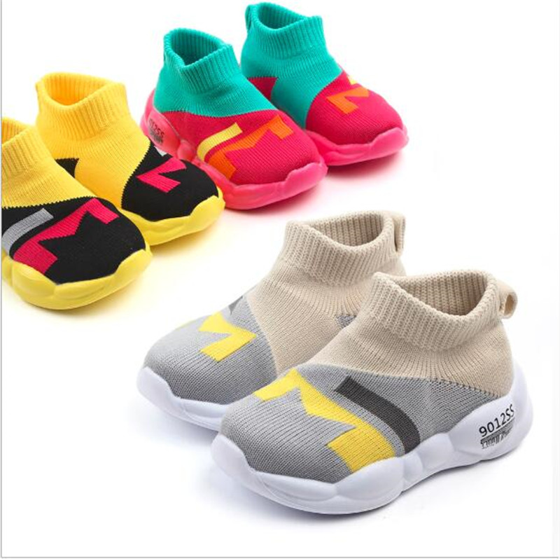 New Spring Infant Toddlers Shoes Girls Boys Casual Mesh Shoes Soft Bottom Breathable Kid Baby First Walkers