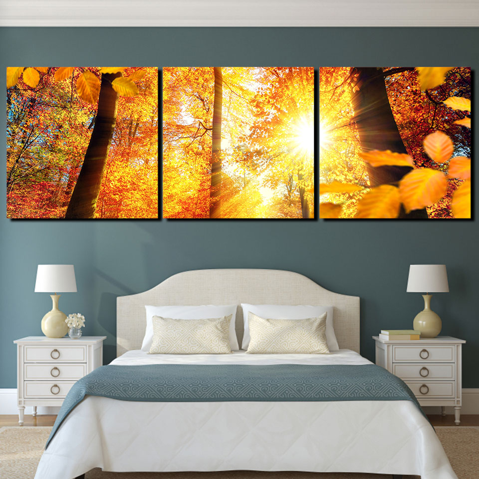 Modern Painting Wall Art Pictures 5 Panel Home Decor For Living Room ...