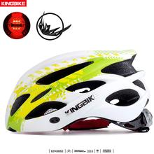 KINGBIKE kolarstwo kask Ultralight kask do roweru górskiego kask rowerowy odkryty Sport Skating miłość kaski capacete de bicicleta tanie tanio KING BIKE (Dorośli) mężczyzn BC-002 230g 16-20 Integrally-molded Helmet Bicycle helmet Cycling Helmet Bike Helmet men and women