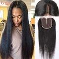 Brazilian Straight Closure Top Quality Human Hair Lace Closure 8A Brazilian Virgin Hair Straight Lace Closure Free Part Closures