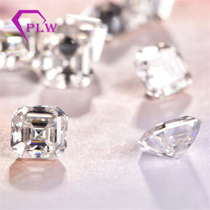 Image 3 - Provence jewelry Loose moissanite 2 carat 7*7 mm D color asscher cut test positive gem stone for bracelet  ring chain earring