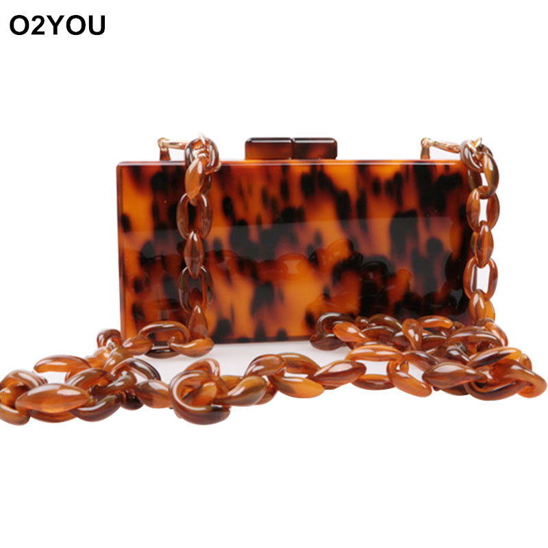 Women Bags Casual Women Messenger Bag Women Leopard Acrylic Box Clutch Handbags Women Famous Brands Shoulder Bride Clutch Bags big silver glitter cherise resin clutch bag acrylic glitter clutch bags fashion women flap shoulder messenger acrylic box clutch