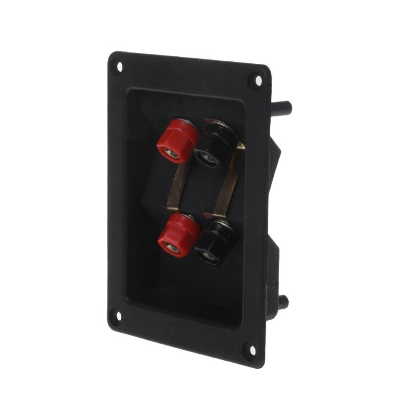 2pcs Amplifier Terminal Binding Post Banana Plug Jack Panel mount Lager Size JB