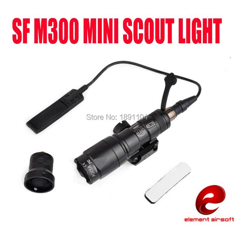 Element SF M300A MINI SCOUT LIGHT LED M300 Flashlight For Hunting EX 191