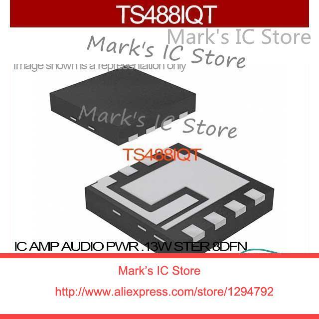 ts488iqt ic amp audio pwr 13w ster 8dfn ts488iq 488 ts488 488i ts48 rh aliexpress com Op-Amp Audio Amplifier LM358 Audio Amplifier Circuit
