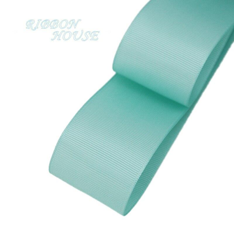 (5 м/лот) 40 мм свет лента Гро-гро зеленая подарочная упаковка оптом Новогоднее украшение ленты