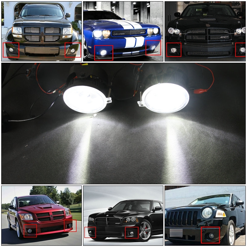 LED DRL Fog Halo Rings Lamp-1