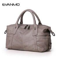 New 2016 Fashion Women Genuine Leather Handbags Vintage Design Crossbody Bag European American Style Totes Classic